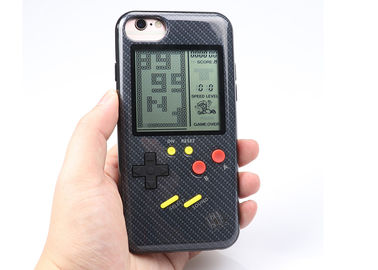 China Tetris Game Cover Cute Shock Proof Smartphone Case Cover , 3V Custom Cell Phone Case supplier