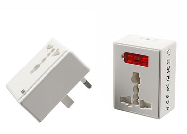 UK US AU EU Power Plug Travel Adapter For Business 2400mA 5V DC 6A Max White