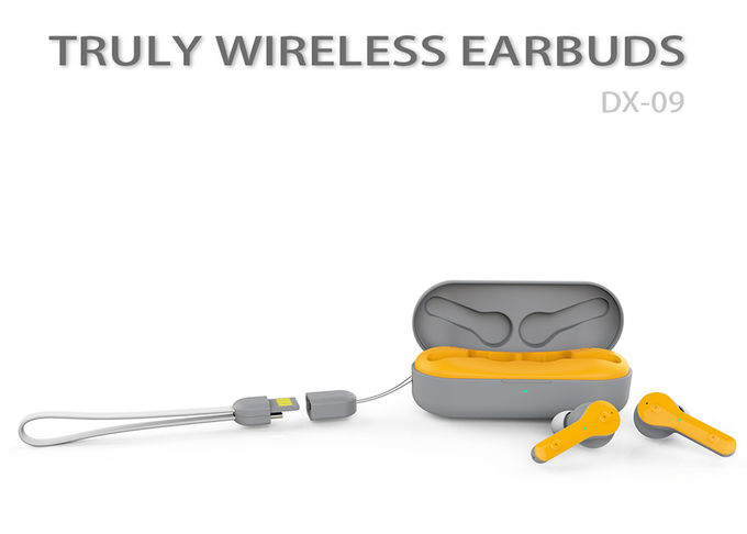 HiFI Sound Truly Wireless Earbuds With 15 Hours Playing Sweat Proof DX-09