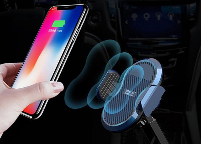 10W Compatible With Android Iphone Wireless Charger , QI Wireless Phone Charger