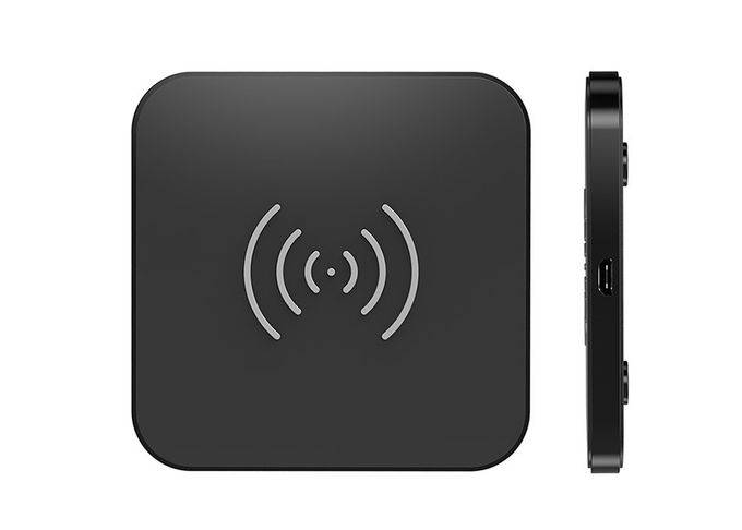 Quick Charge Portable Wireless Charging Pad Qi Certified For Mobile Phone