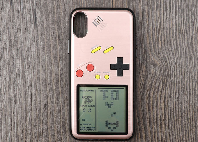 130g Cell Phone Protective Covers Funny Tetris Gaming PC Retro Game Phone Case