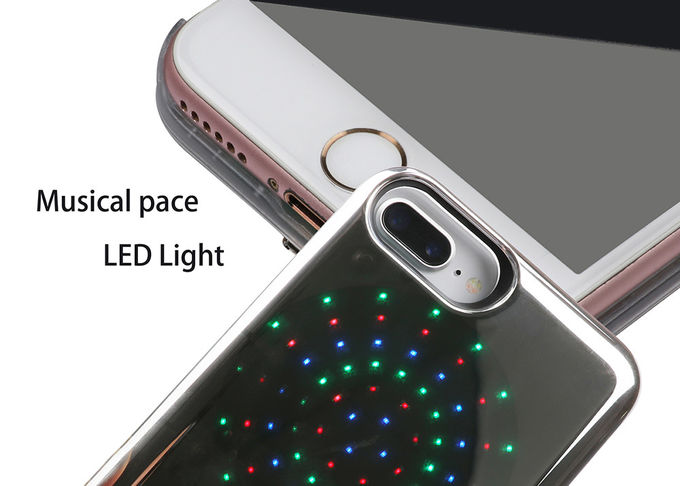 LED Music Mobile Phone Protective Cases 4.7-5.5 Inch For Smartphone SZX-PC-019