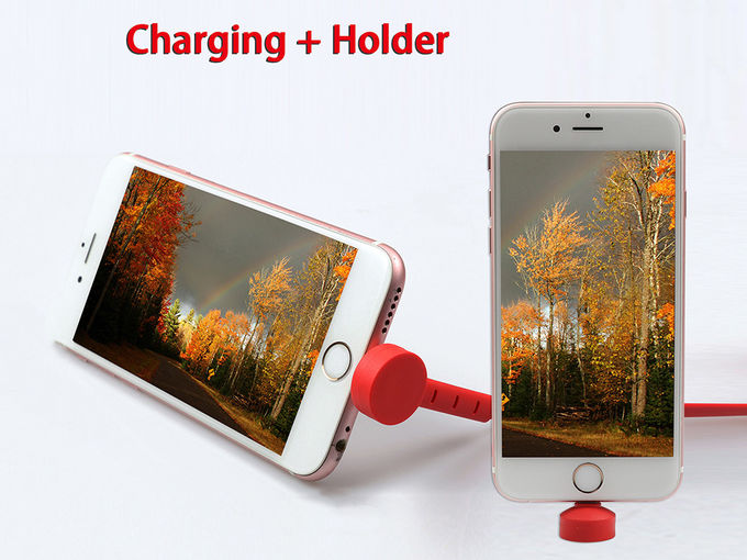 8 pin usb cable for iPhone ,usb phone charger with holder for iPhone